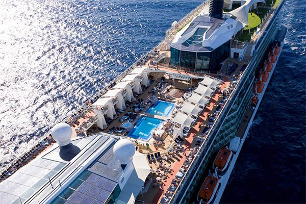 Celebrity Cruise Ship - Celebrity Silhouette