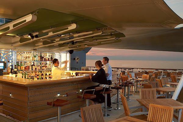 Celebrity Cruises - Sunset Bar