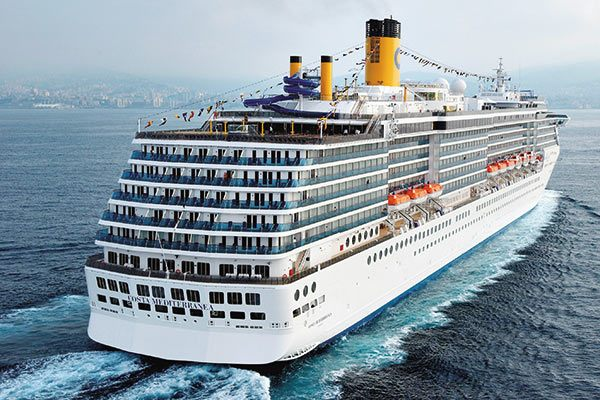 Costa Cruise Ship - Mediterranea