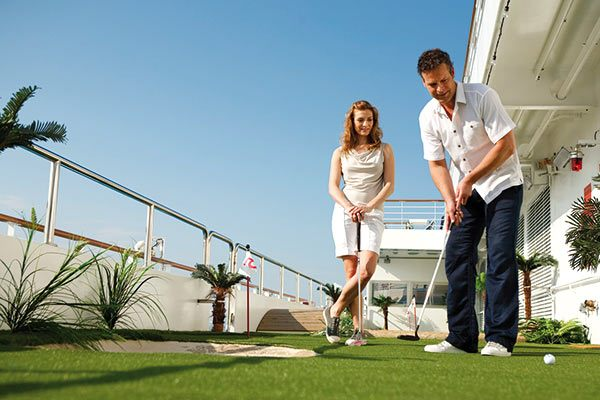 Costa Cruises - Miniature Golf