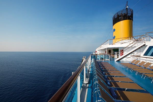 Costa Cruises - On Deck