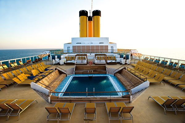 Costa Cruises - Pool Deck
