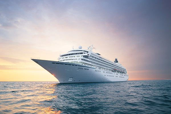 Crystal Cruises - Crystal Symphony At Sea