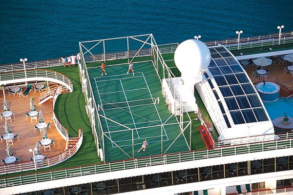 Crystal Cruises - Tennis On Board (Select Ships)