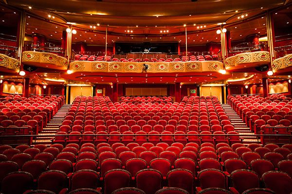 Cunard Cruise Line - Theater