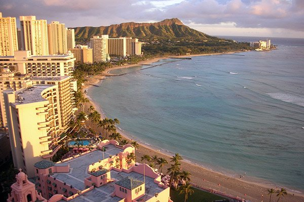 Diamond Head Waikiki Beach