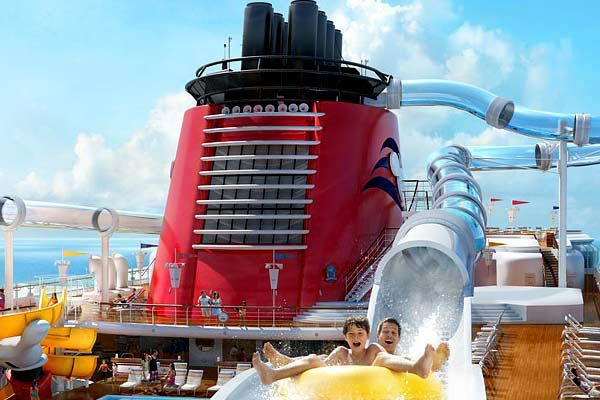Disney Cruise Line - Aquaduck Waterslide