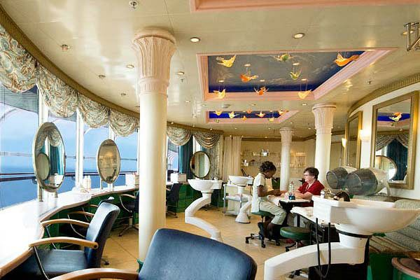 Disney Cruise Line - Vista Salon