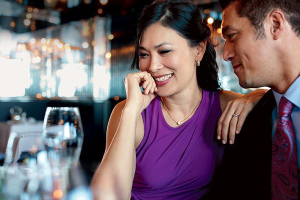 Holland America - Couple At Pinnacle Grill