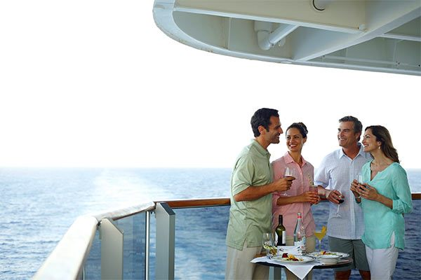 Holland America - Drinks On Veranda Deck