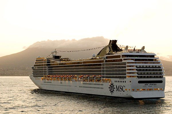 MSC Cruise Ship - Poesia