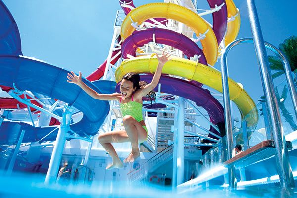 Norwegian Cruise Line - Aquapark (Select Ships)