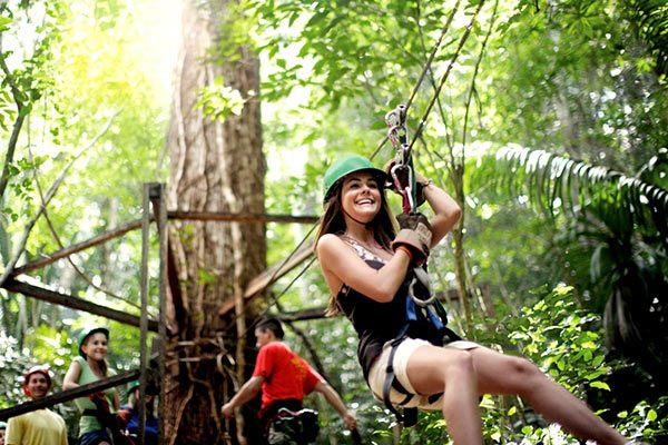 Norwegian Cruise Line - Zipline Excursion (Select Destinations)