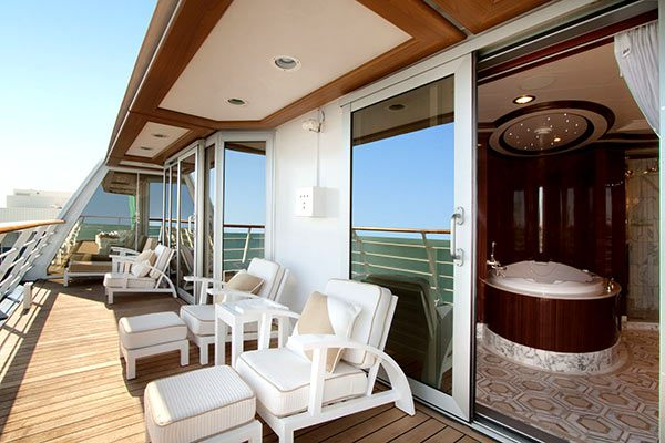 Oceania Cruises - Owners Suite Balcony
