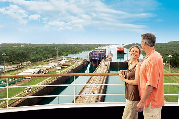 Princess Cruises - Panama Canal