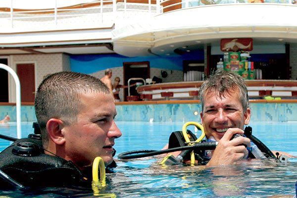 Princess Cruises - Scuba Lesson