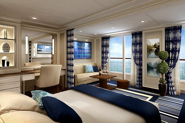 Regent Cruises - Concierge Suite