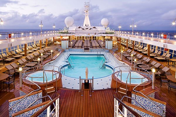 Regent Cruises - Pool Deck