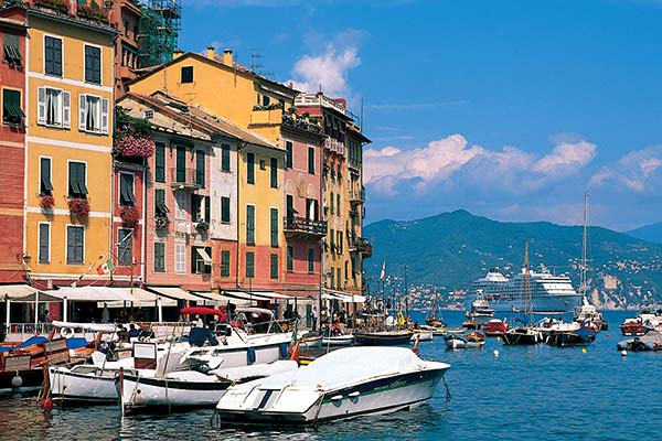 In Portofino (Select itineraries)