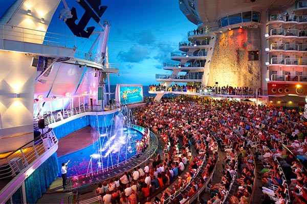 Royal Caribbean Cruises - Aqua Theater (Select Ships)