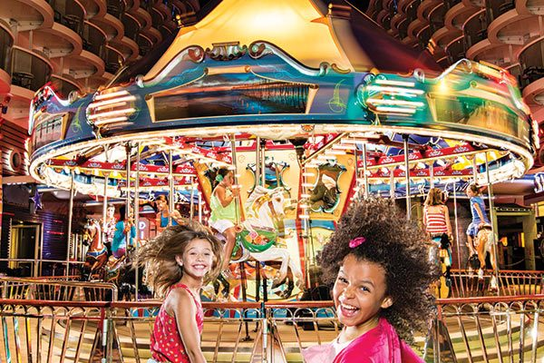Royal Caribbean Cruises - Boardwalk Carousel (Select Ships)