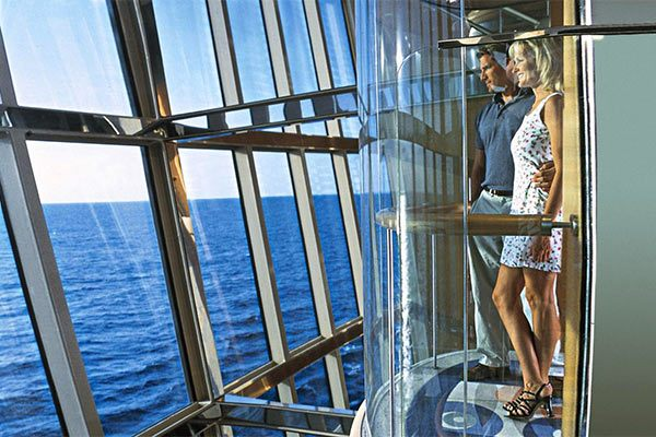 Royal Caribbean Cruises - Elevator With A View (Select Ships)