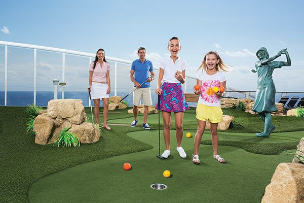 Royal Caribbean Cruises - Mini Golf
