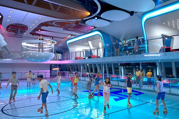 Royal Caribbean Cruises - Roller Skating (Select Ships)
