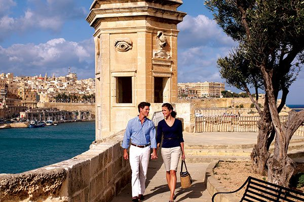 Seabourn Cruises - Ashore on Malta (Select Itineraries)