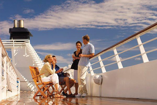 Seabourn Cruises - Relaxing On Deck