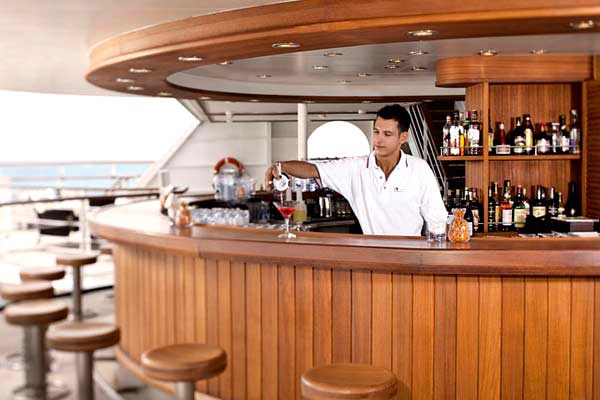 Seabourn Cruises - Sky Bar