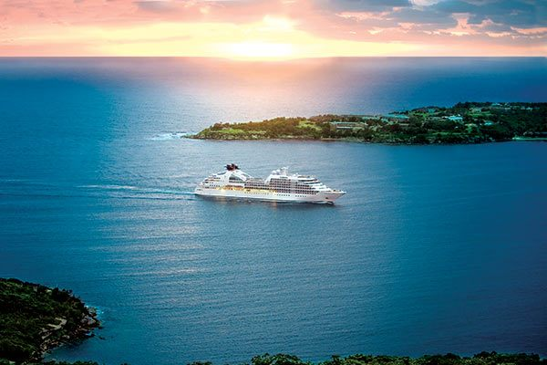 Seabourn Cruise Ship - Sojorn At Sea