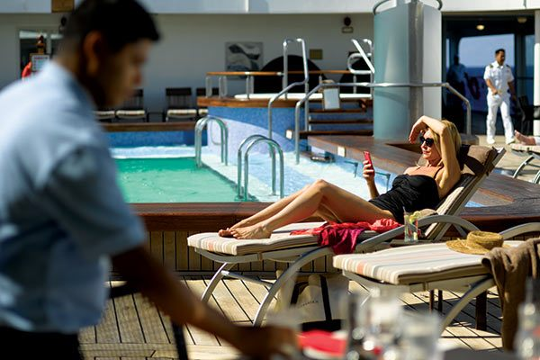 Silversea Cruises - By The Pool