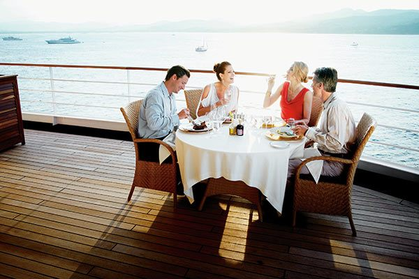 Silversea Cruises - Dining on the Deck
