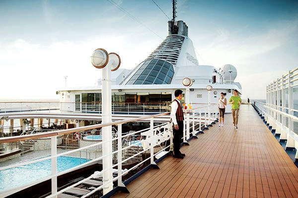 Silversea Cruises - Exercise On Board