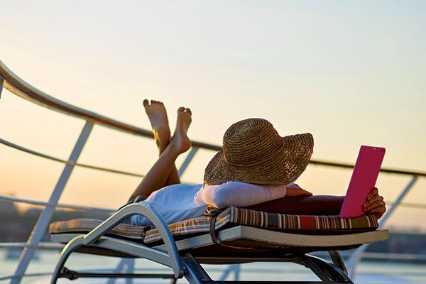 Silversea Cruises - Relaxing on the Deck
