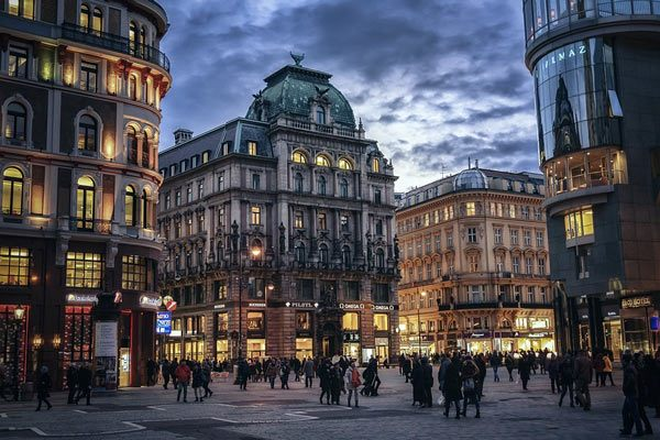Vienna City in the Evening