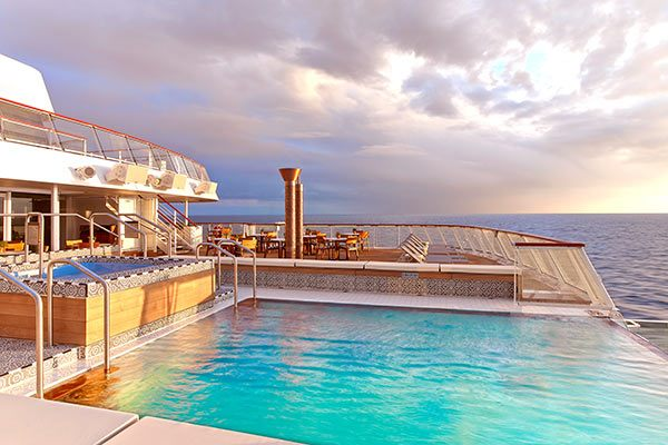 Viking Ocean Cruises - Aquavit Infinity Pool