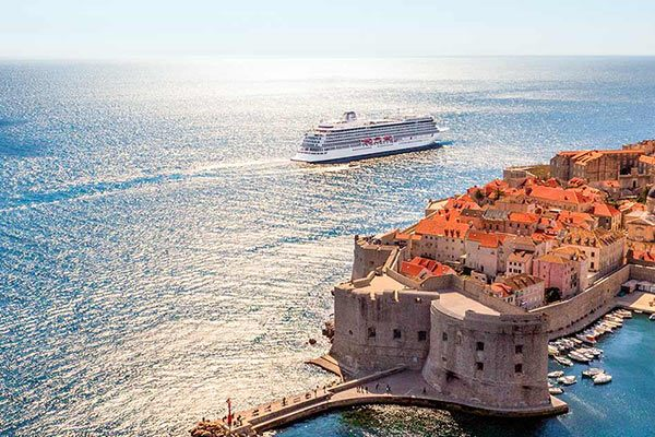 Viking Ocean Cruises - Viking Sea Dubrovnik Coastline