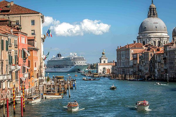 Viking Ocean Cruises - Viking Star In Venice