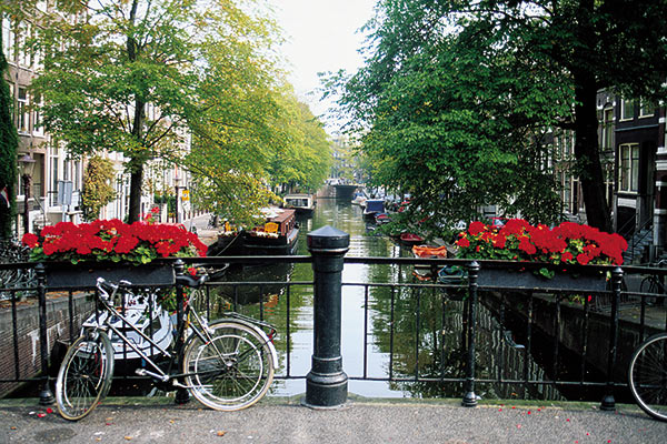Canals in Amsterdam, Netherlands