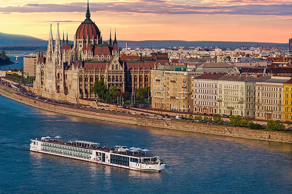 Viking River Cruises - Longship In Budapest