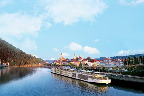 Viking River Cruises - Longship In Passau