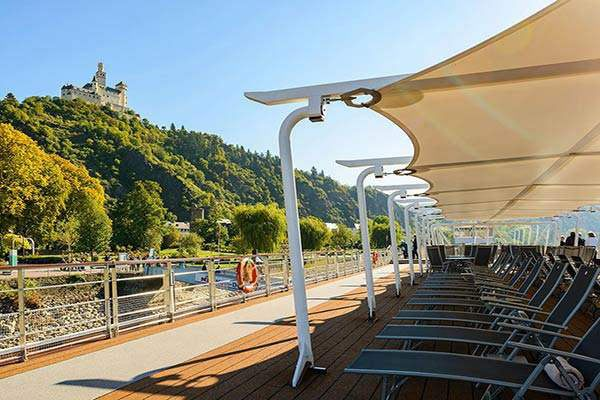 Viking River Cruises - Sun Deck