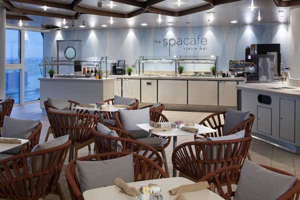 Celebrity Cruises - Spa Cafe